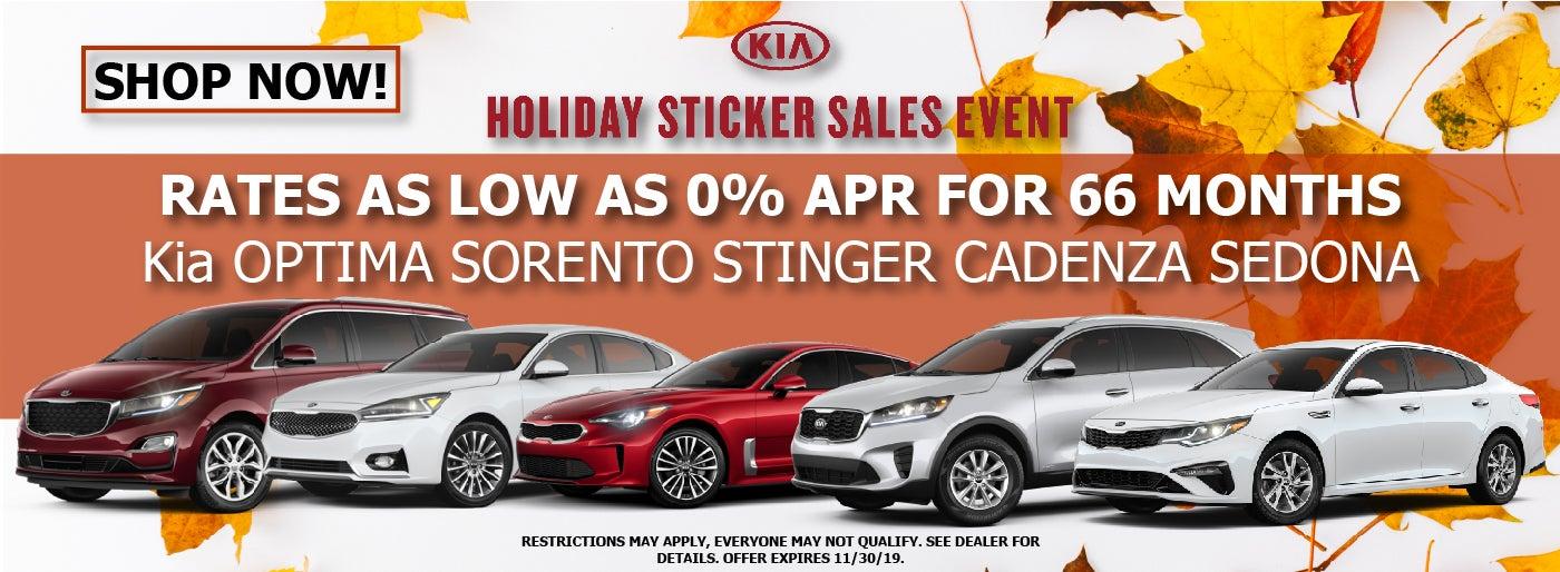 Kia Dealerships Near Me >> Sale Car New Holiday Ad
